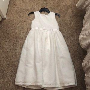 A white dress!